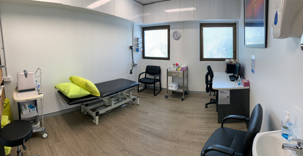 Complete Pelvic Floor Physio treatment rooms